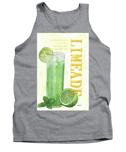 Tank Top featuring the painting Limeade by Debbie DeWitt