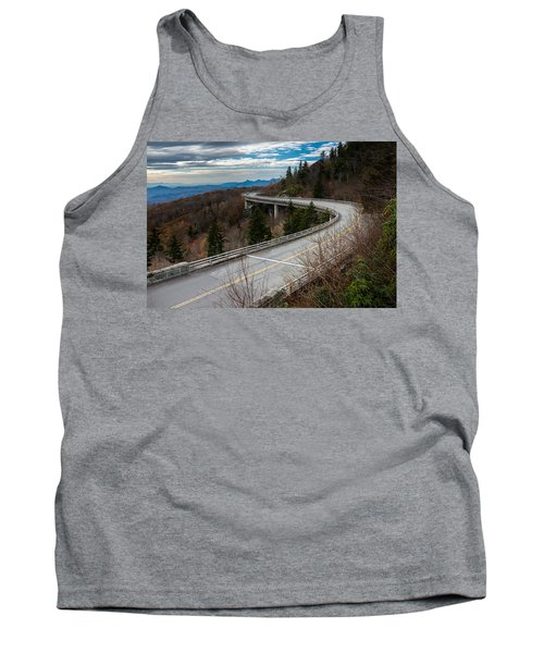 Linn Cove Viaduct Late Fall Tank Top