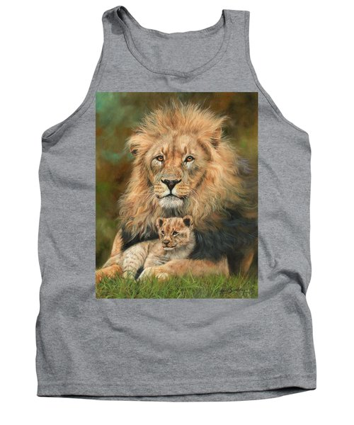Lion And Cub Tank Top