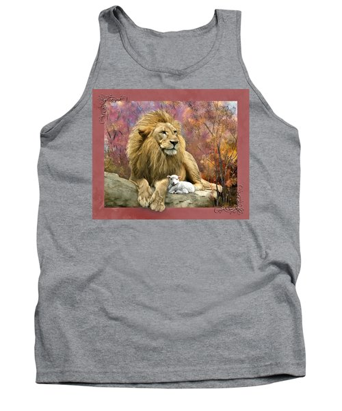 Lion And The Lamb Tank Top