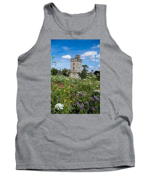 Lismore Castle Gardens Tank Top by Martina Fagan