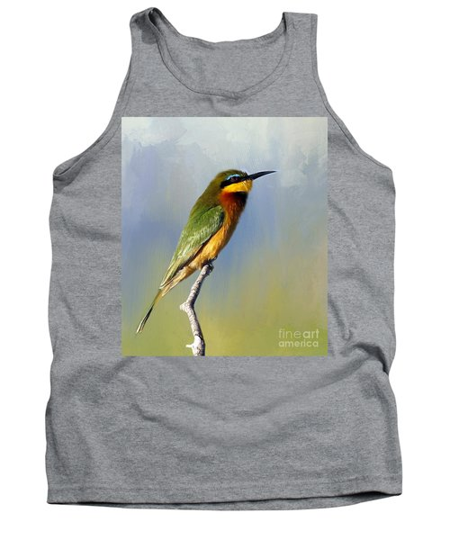 Little Bee-eater Tank Top by Myrna Bradshaw