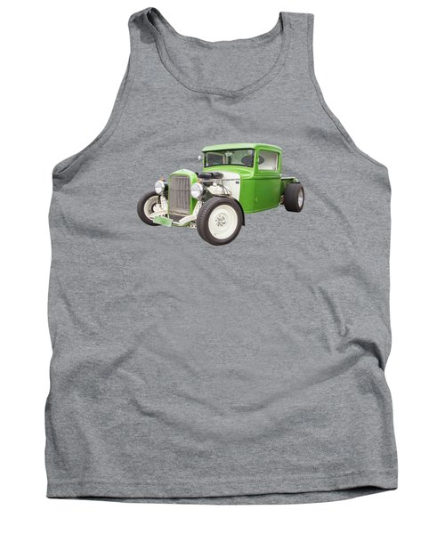 Little Green 32 Tank Top by Keith Hawley