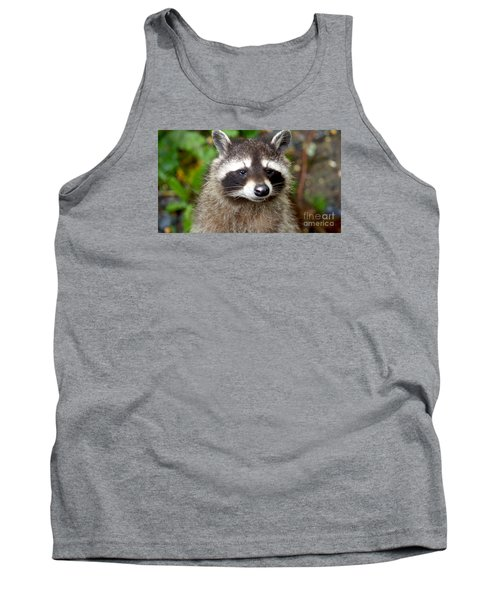Little Racoon - Procyon Lotor Tank Top