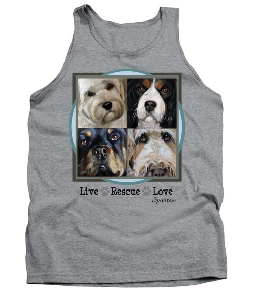 Live Rescue Love Tank Top