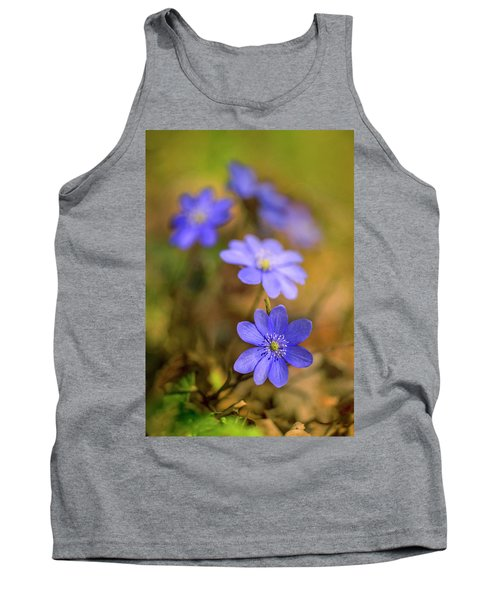 Tank Top featuring the photograph Liverworts In The Afternoon Sunlight by Jaroslaw Blaminsky