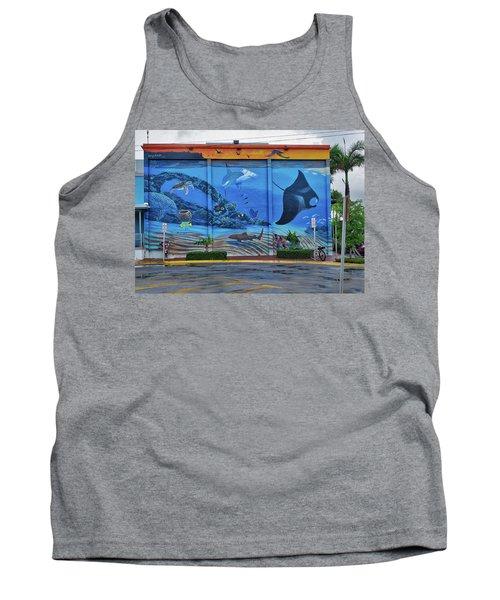 Living Reef Mural Tank Top