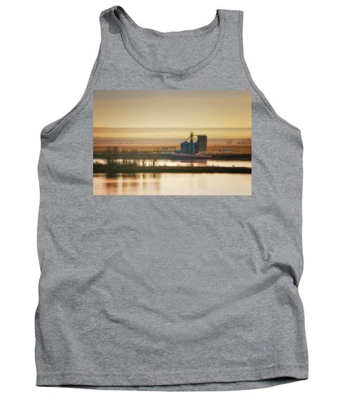 Tank Top featuring the photograph Loading Grain by Albert Seger