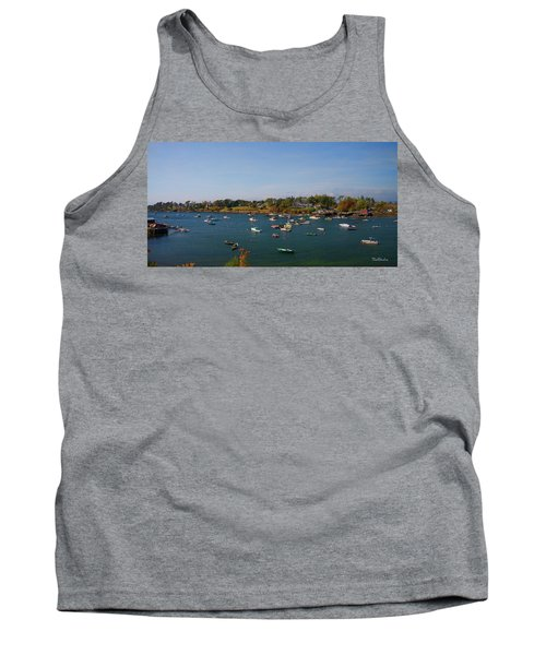 Lobster Boats On The Coast Of Maine Tank Top