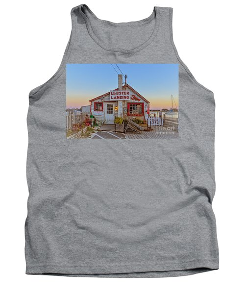 Lobster Landing Sunset Tank Top