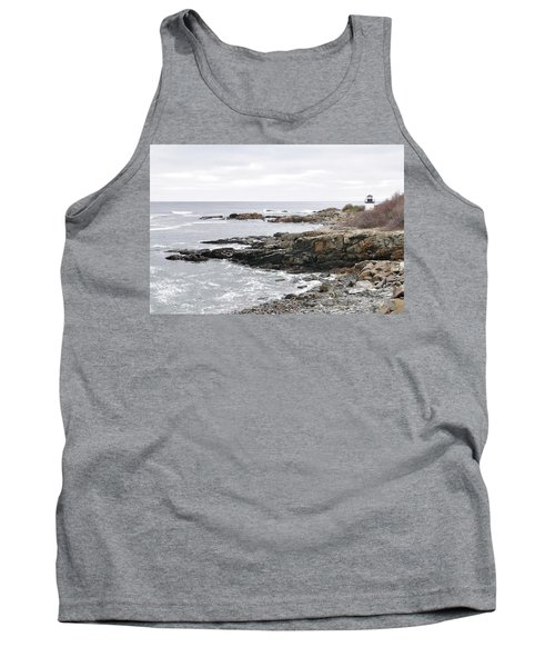 Lobster Point Lighthouse - Ogunquit Maine Tank Top