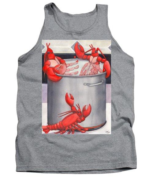 Lobster Spa Tank Top