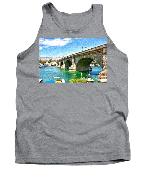London Bridge In Arizona Tank Top