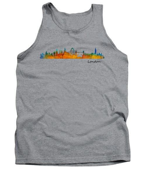 London City Skyline Hq V1 Tank Top