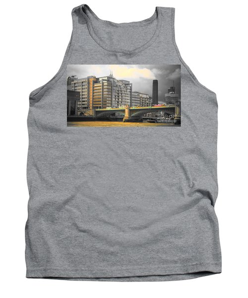 London Tank Top by Therese Alcorn