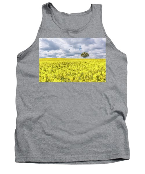 Tank Top featuring the photograph Lone Beauty by Nick Bywater