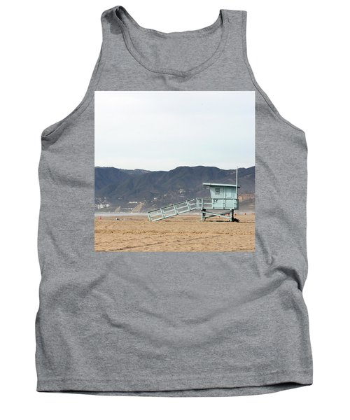 Lone Lifeguard Tower Tank Top