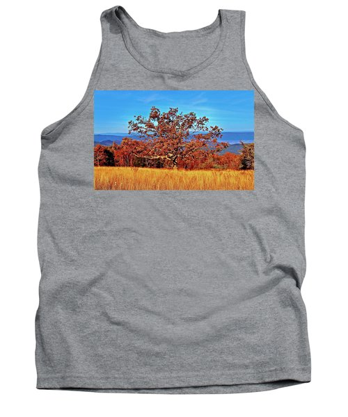 Lone Mountain Tree Tank Top