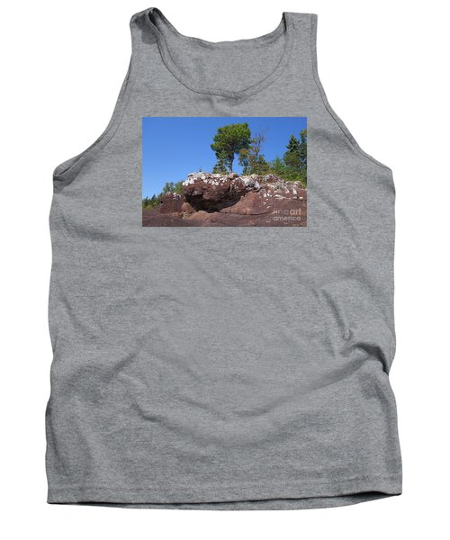 Tank Top featuring the photograph Lone Pine Sentinel  by Sandra Updyke