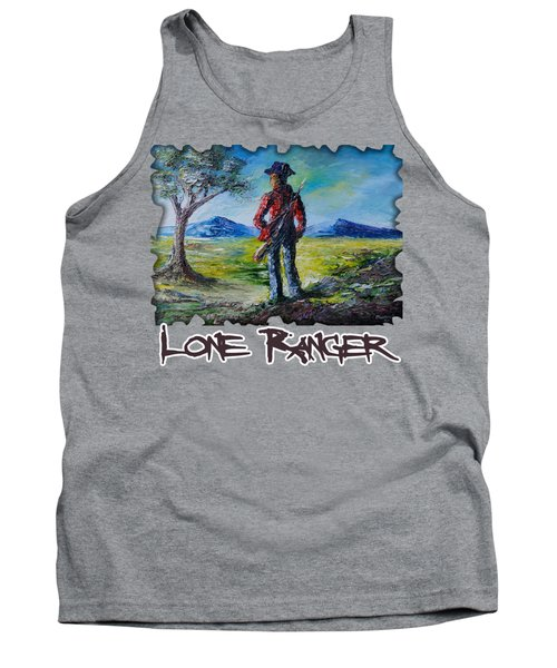 Lone Ranger On Foot Tank Top