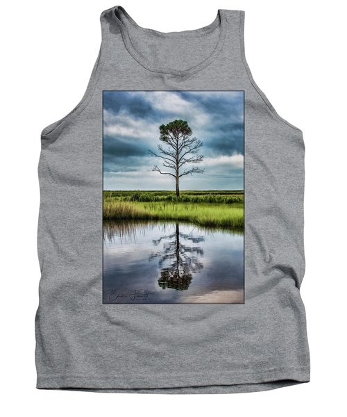 Lone Tree Reflected Tank Top