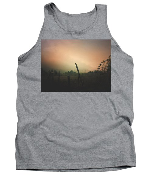 Lonely Fence Post  Tank Top