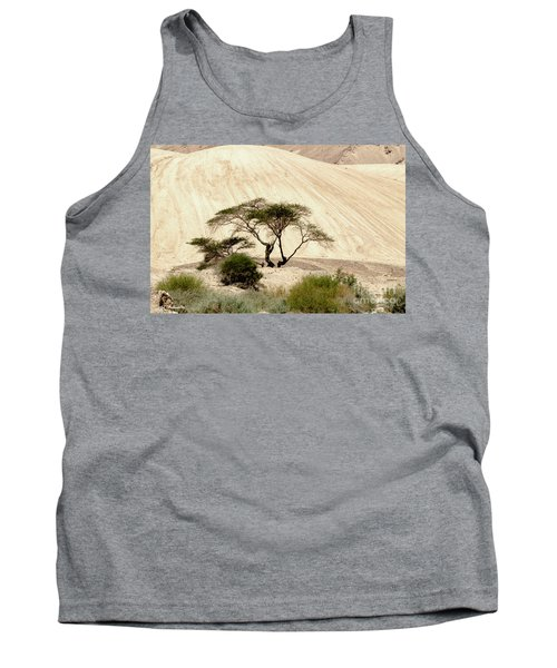 Lonely Tree Tank Top by Arik Baltinester