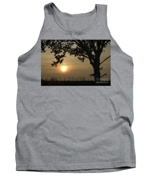 Lonely Tree At Sunset Tank Top by Kennerth and Birgitta Kullman
