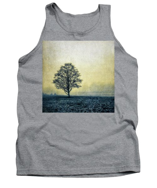Tank Top featuring the photograph Lonely Tree by Marion McCristall