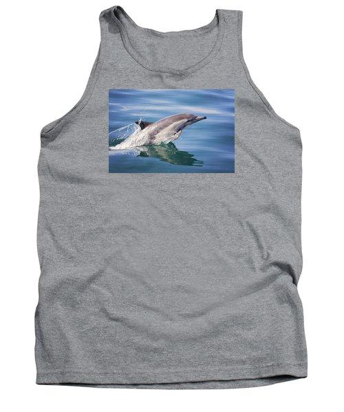 Long Beaked Common Dolphin Tank Top