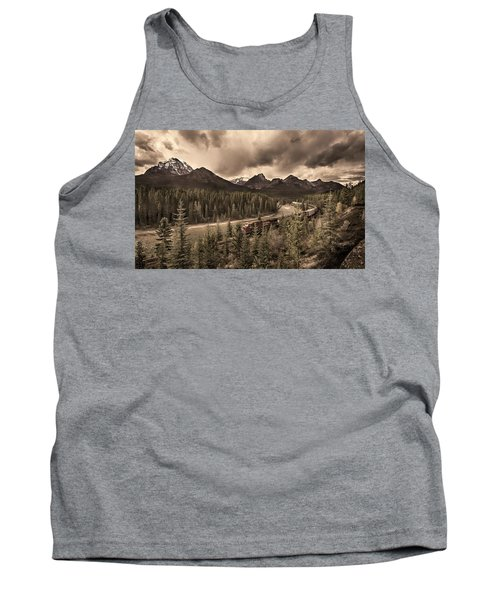 Tank Top featuring the photograph Long Train Running by John Poon