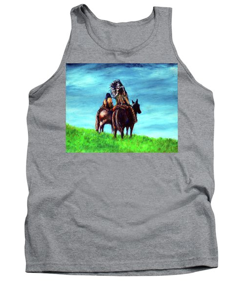 Looking Over Our Domain Tank Top