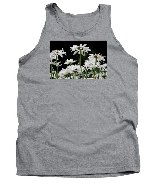 Looking Up At At Daisies Tank Top by Dorothy Cunningham