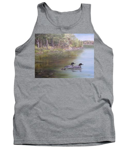 Loon Family 1 Tank Top
