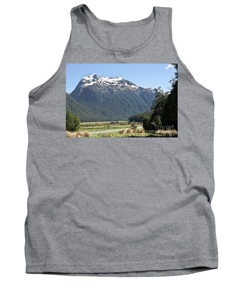 Lord Of The Rings Locations, New Zealand Tank Top
