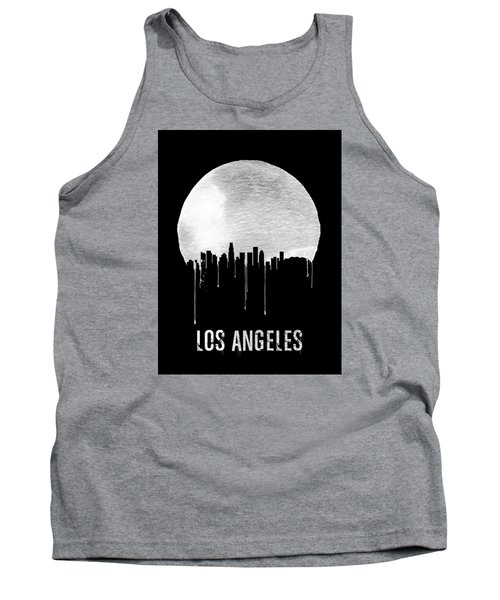 Los Angeles Skyline Black Tank Top