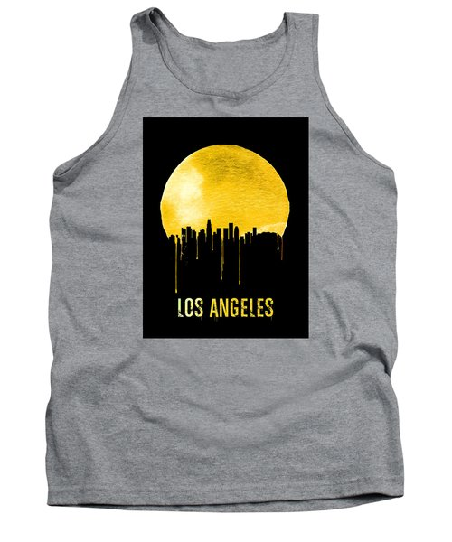 Los Angeles Skyline Yellow Tank Top