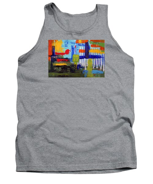 Lost In Forest Tank Top
