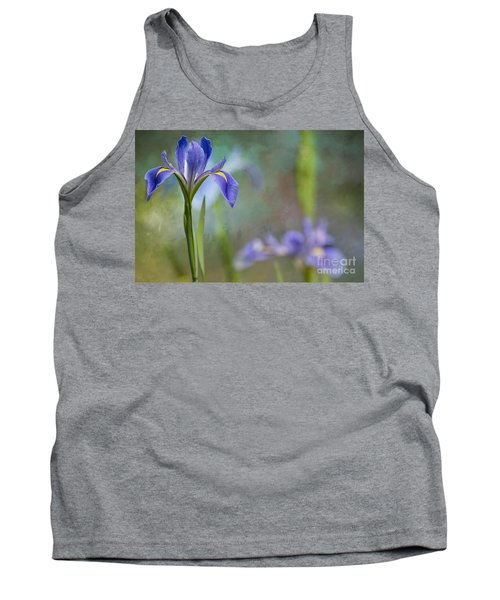 Tank Top featuring the photograph Louisiana Iris by Bonnie Barry