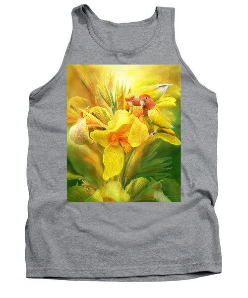 Love Among The Orchids Tank Top