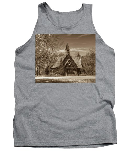 Love Chapel In Sepia Tank Top