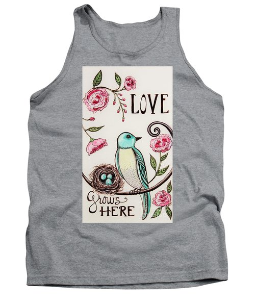 Love Grows Here Tank Top