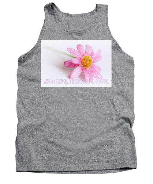 Love Is A Flower Tank Top