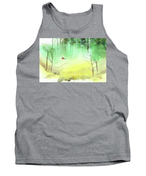 Lovebirds 3 Tank Top by Anil Nene