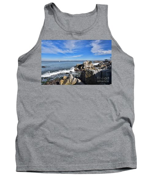 Tank Top featuring the photograph Lovers Point Park by Gina Savage