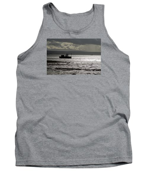 Tank Top featuring the photograph Low Tide In Isle Of Skye by Dubi Roman