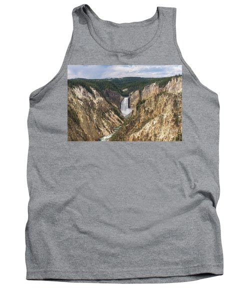 Lower Falls Of The Yellowstone Tank Top