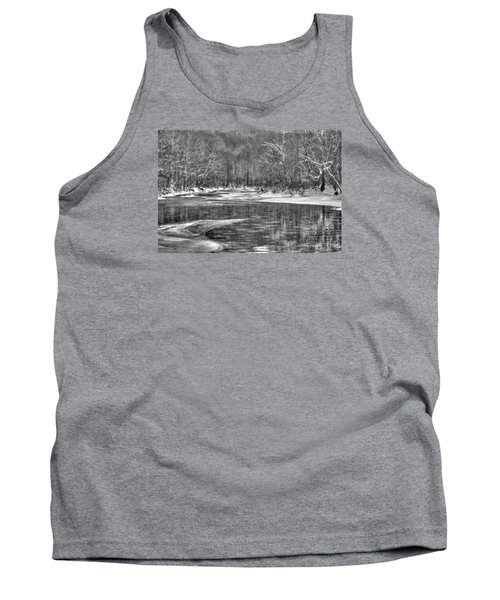 Loyalhanna Creek Bw - Wat0097 Tank Top by G L Sarti