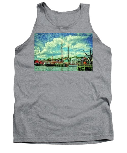Lunenburg Harbor Tank Top