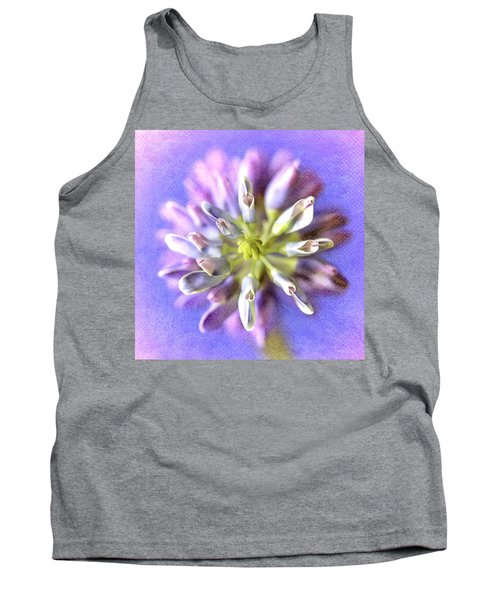 Lupine Hearts Unfurled Shabby Chic Tank Top